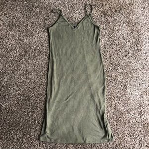 Abercrombie & Fitch Olive Max Dress
